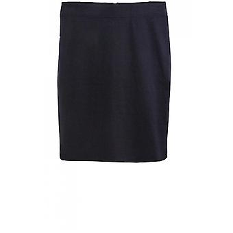 b.young Black Straight Fitted Skirt
