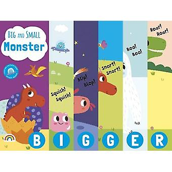 Big and Small - Monsters by Villie Karabatzia - 9781784681951 Book