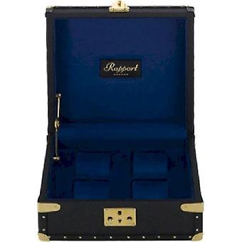 Rapport London Watch Box Navy Blue Classic FourL305