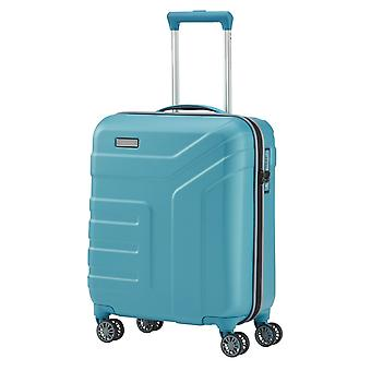 travelite Vector Handbagage Trolley S, 4 hjul, 55 cm, 40 L, turkos