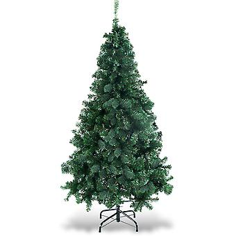 1.5m 5FT Artificial Christmas Tree Green with Metal Stand Xmas Home Festival