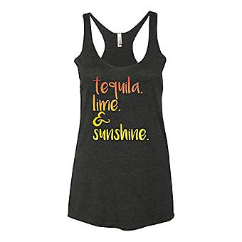 Panoware Women's Funny Graphic Tank Top | Tequila Lime and Sunshine, Vintage ...
