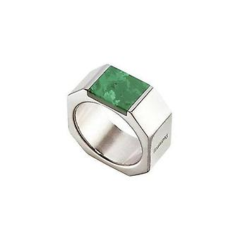 Nomination Italy Stainless Steel Ring - Malachite