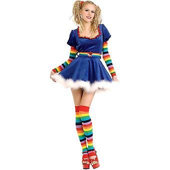 Regenbogen weiblichen Erwachsenen Kostüm