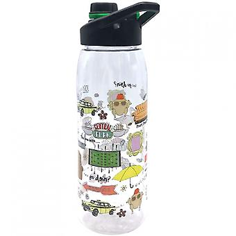 Friends 28 Ounce Water Bottle With Screw Lid