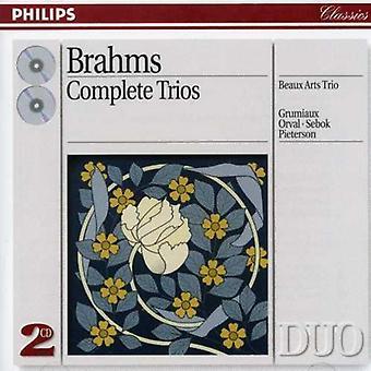 Beaux Arts Trio - Brahms: Complete Trios [CD] USA import