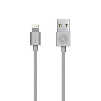 Lightning kabel 1m Silver