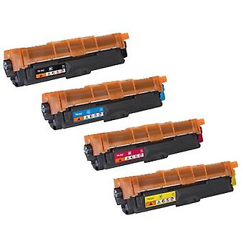 RudyTwos Replacement for Brother TN242 Set Toner Cartridge Black Cyan Magenta & Yellow Compatible with DCP-9015CDW, DCP-9017CDW, DCP-9020CDW, DCP-9022CDW, HL-3140CW, HL-3142CW, HL-3150CW, HL-3150CDW,