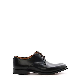 Church's Eeb0289xvf0aab Men's Black Leather Lace-up Shoes