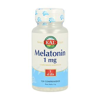 Melatonine 120 tabletten van 1mg