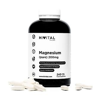 Pure magnesium 200 mg from Magnesium Citrate 240 tablets