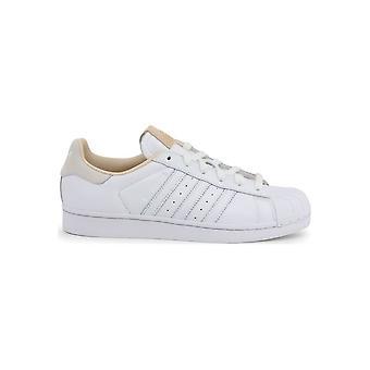 Adidas - Shoes - Sneakers - EF2102 Superstar - Unisex - white,tan - UK 7.5