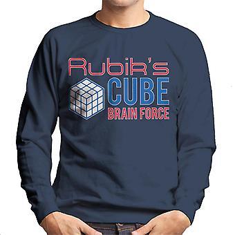 Rubik's Cube hersenen Force mannen Sweatshirt
