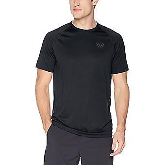 Peak Velocity Men's Tech-Vent Short Sleeve Odor-resistent Loose-Fit T-shirt, ...