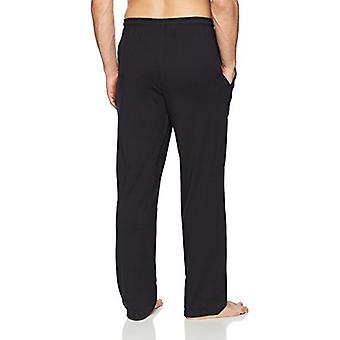 Essentials Men's Knit Pajama Pant, Black, XX-Large