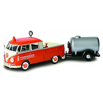MotorMax Motormax Volkswagen VW T2 Service Van With Tanker Trailer  1:24