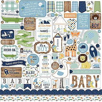 Echo Park Baby Boy 12x12 Inch Element Sticker