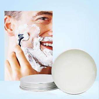 Mint Scented Men's Shaving Soap, Cream Aluminum Boxed Foam, Rich Gentle