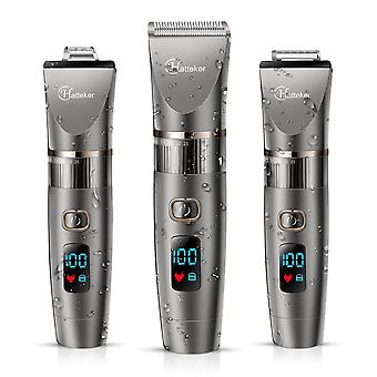 Professional And Waterproof With Led Display-hair Clipper