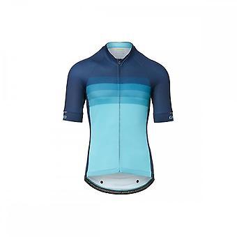 Giro Chrono Expert Short Sleeve Jersey 2020: Iceberg Horizon Xl