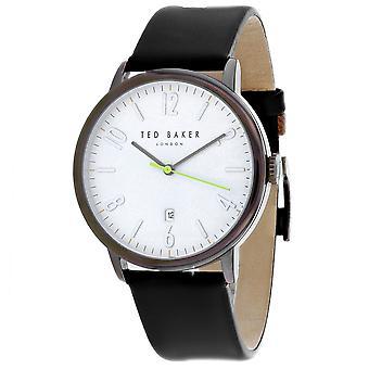 165, Ted Baker Men 's TE15067003 Reloj negro de cuarzo