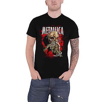 Metallica camiseta Fixxxer Redux Band Logo nuevo Oficial Mens Negro