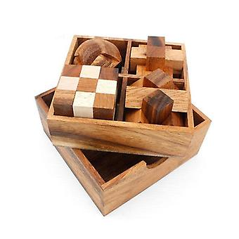4 Puzzles Deluxe Gift Box 3