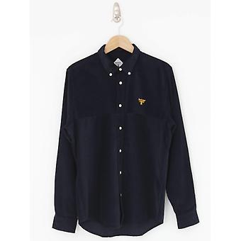 Barbour Beacon Balfour Cord Shirt - Navy
