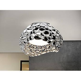 Schuller Narisa - 5 Light Flush Ceiling Light Chrome, G9