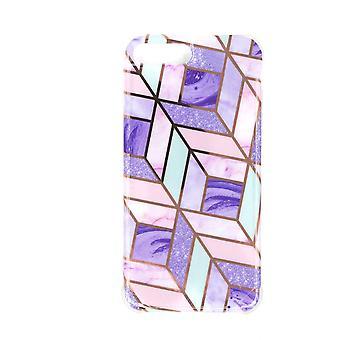 Stoßfestes Mobile Case mit Halter, für iPhone 7Plus/8Plus - Violett