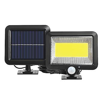 Cob 120led Solar Light For Outdoor Motion Sensor, Wall Light Waterproof Garden