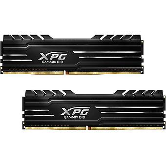 ADATA XPG GAMMIX D10, 16GB (2 x 8GB), DDR4, 3000MHz (PC4-24000), CL16, XMP 2.0, DIMM Memory, Low Profile