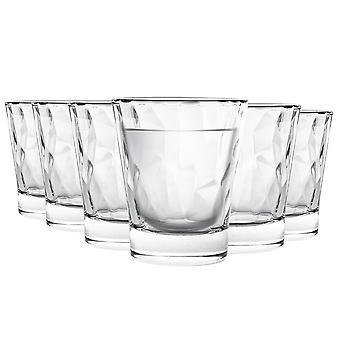 Bormioli Rocco Diamond Glass Shot Ochelari Set - 80ml - Pachet de 6
