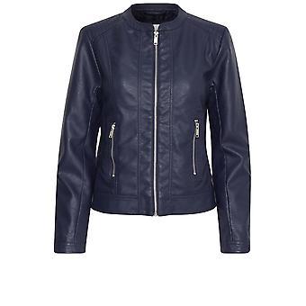 b.young Acom Blue Biker Jacket