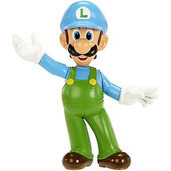 World of Nintendo Super Mario Ice Luigi Figure Series 1