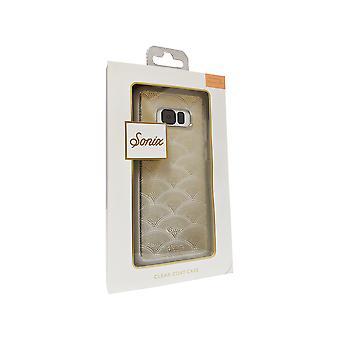 Sonix Clear Coat-fodral för Samsung Galaxy S8 Plus - Förgyllt guld/clear