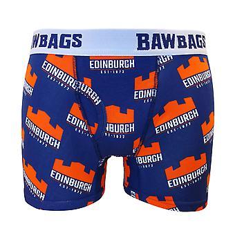 Bawbags ادنبره الركبي الملاكم شورت -- الأزرق