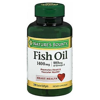 Nature's Bounty Natures Bounty Omega-3 Fish Oil, 1400 mg, 24 X 39 Softgels