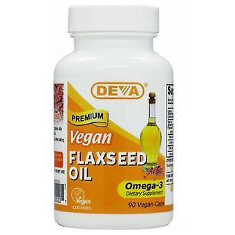 Deva Vegan Vitamins Flaxseed Oil, 90 Vcap
