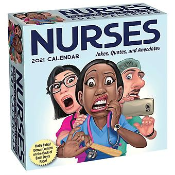 Nurses 2021 DaytoDay Calendar  Jokes Quotes and Anecdotes by Andrews McMeel Publishing