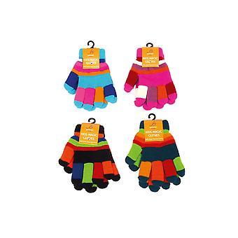 Otterdene Childrens Double Lined Gloves Multi AG592
