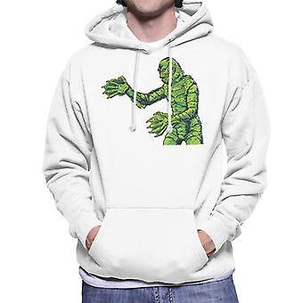 Creature From The Black Lagoon Side Monster Men's Hooded Sweatshirt