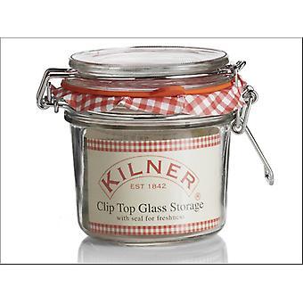 Kilner Clip Jar Round 0.35L 0025.495