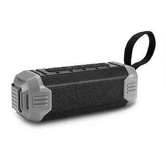 16W Portable Wireless bluetooth Speaker Stereo TF Card Aux-in IPX5 Waterproof