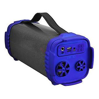 Portable Wireless bluetooth Speaker Colorful LED Light Outdoor Stereo Bass FM