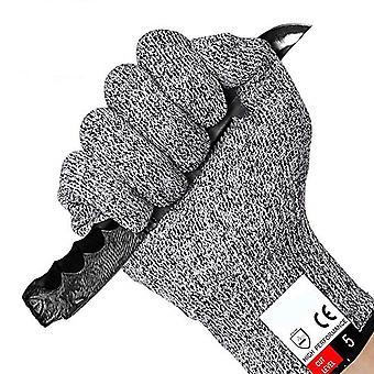 Anti cut rukavice Level 5 Veľká úroveň 5 ochrana podľa EN 388 Najlepšia ochrana proti škrtom!