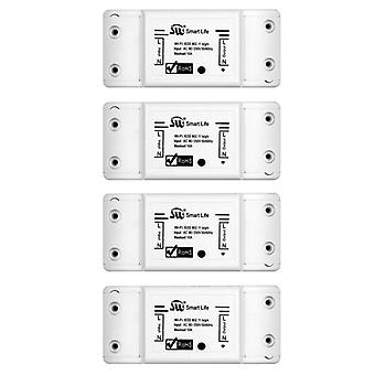 Smart Light Switch Universal Breaker Timer Wireless Remote Control Works With