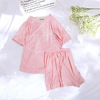 Pyjamas femmes Ensemble Été Cute Strawberry Short Sleepwear Comfortable Home