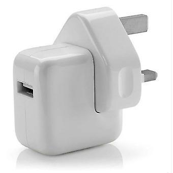 For Apple 12W USB Mains Fast USB Power UK Apple iPad,iPod, iPhone