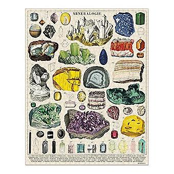 Cavallini MINERALOGY Jigsaw Puzzle 1000 Pieces